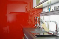 AMOBLAMIENTO - Cocina con coverglass